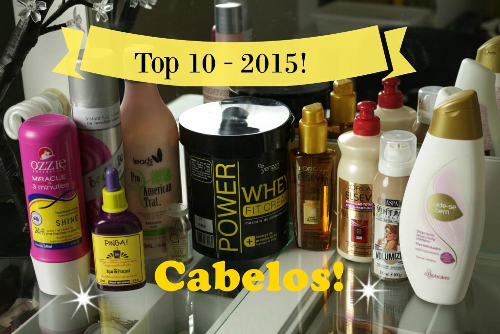 Top 10 - Produtos de Cabelo Mais Usados em 2015!