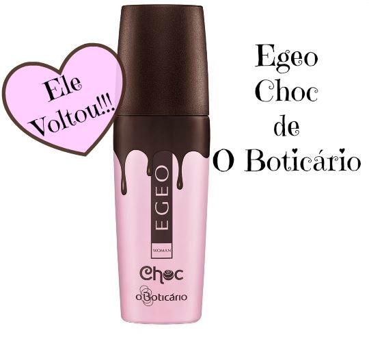 Egeo Choc agora fará parte do Portfólio de Perfumes de O Boticário.