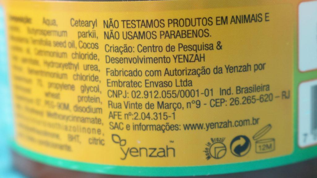 A Yenzah não testa produtos em animais e não usa Parabenos.